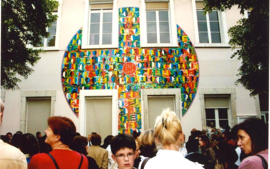 Fresque école Alphonce Baudin