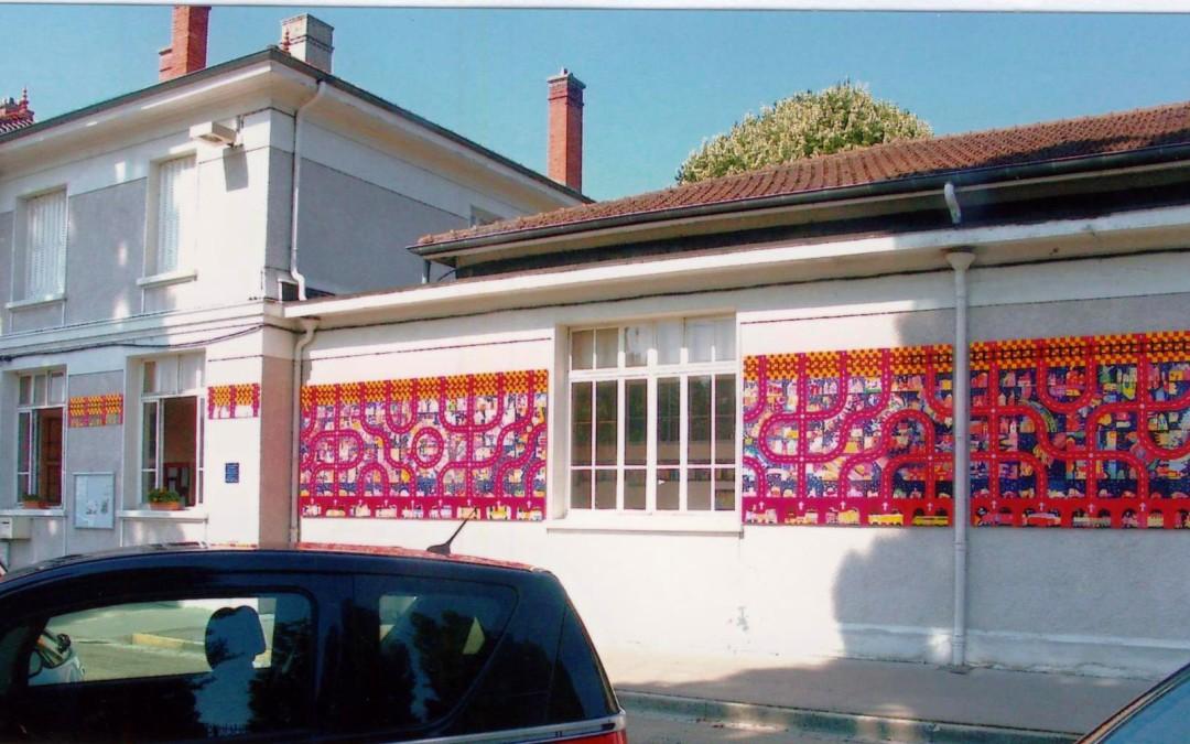 Fresques école du Peloux