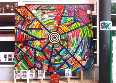 2012 fresque erea la Chagne